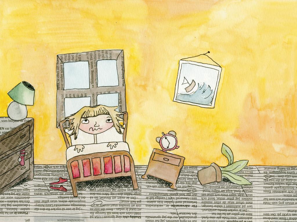 """Screenshot from """"Annelise och de högljudda grannarna"""""""